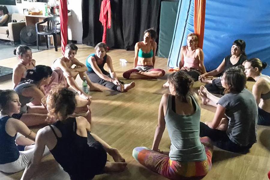Martina Nova La fucina del circo discipline aeree