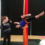 Martina Nova La fucina del circo lezioni di circo