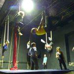 Martina Nova insegnate acrobatica aerea torino