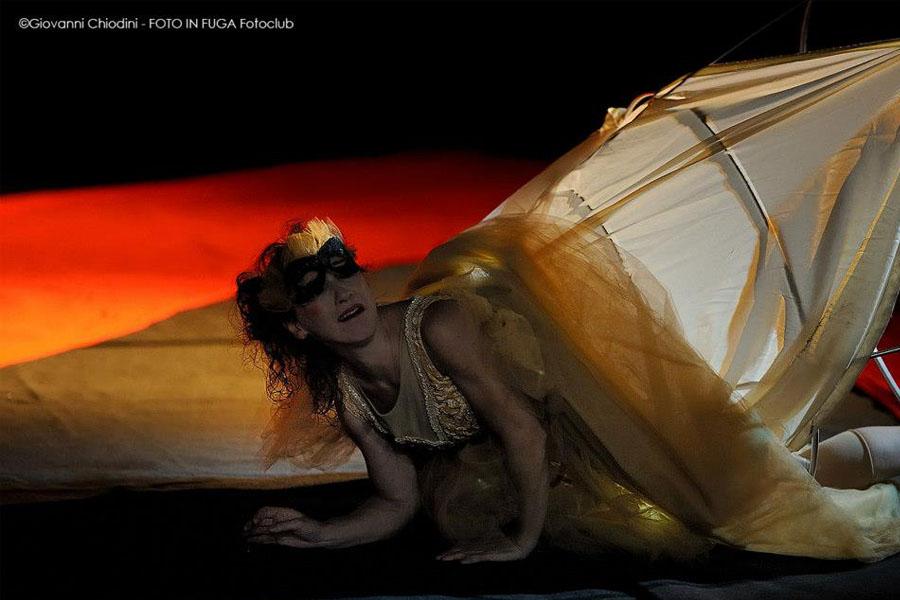 Martina Nova performing artist a teatro